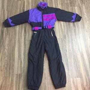 90s hot voltage ski snow suit